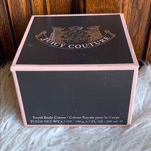 New Juicy Couture Royal Body Cream 6.7 fl. oz.